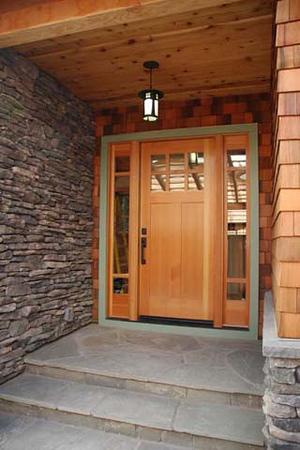 Wyrsch residence: entry