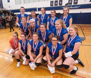 Penn Yan Volleyball 11-4-17 (Sectional Final)