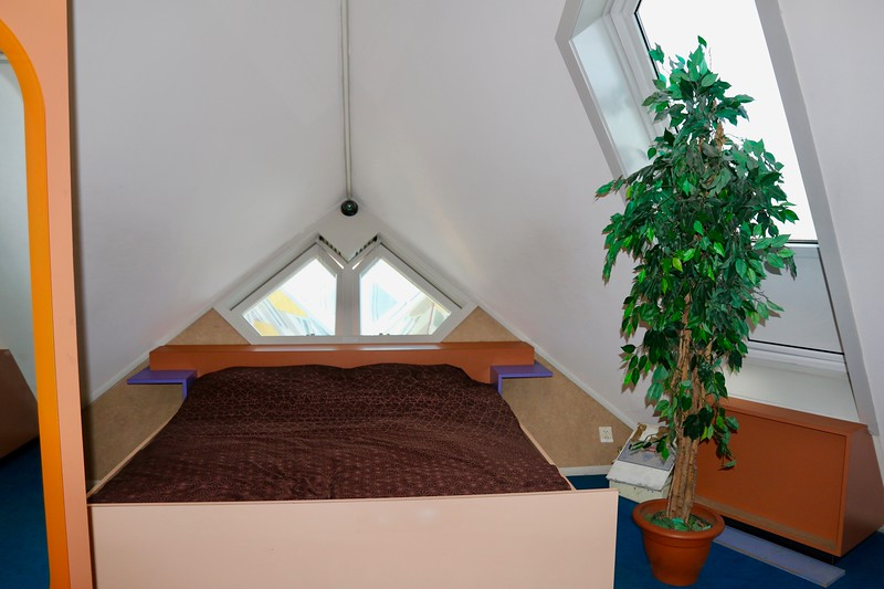 One of the 2 bedrooms - Cube Houses - Rotterdam