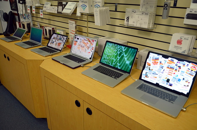 Shopping for Macbooks