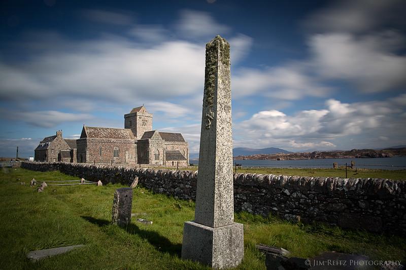 Iona Abbey - Isle of Iona, Scotland
