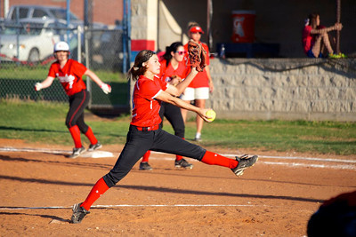 Groveton at Elkhart 04-12-13 Softball by George Anderson