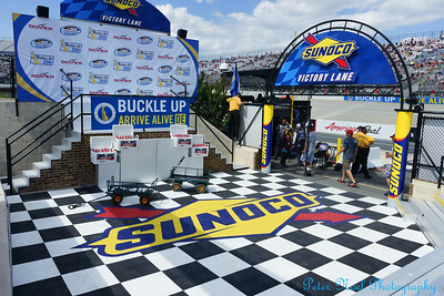 2014 Buckle Up 300 Victory Lane and Press Conference