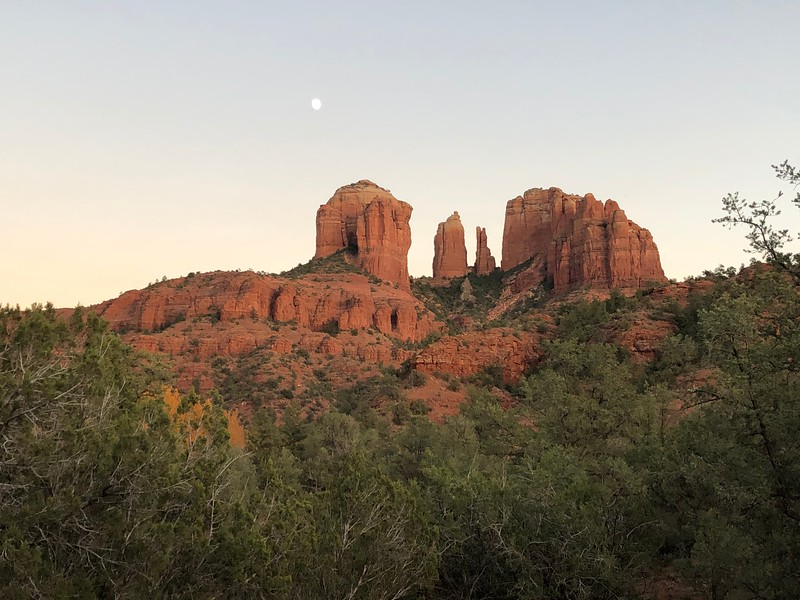 View from the Baldwin Trail in Sedona
