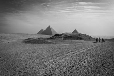 Egypt Series - Black and White
