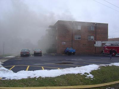 TINLEY PARK IL, 2-11 ALARM FIRE 12/26/2005