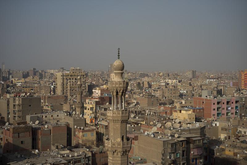 Vista de El Cairo. Egipto