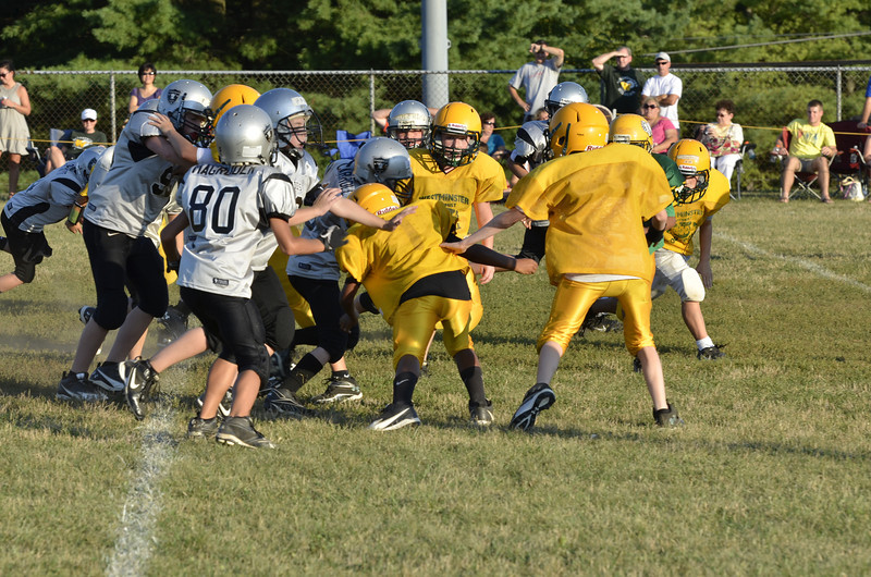 Wildcats vs Raiders Scrimmage 141.JPG