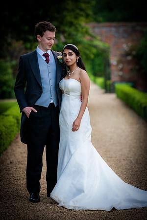 Ruchi and Will's Grand Autumn Stapleford Park Wedding - Saturday