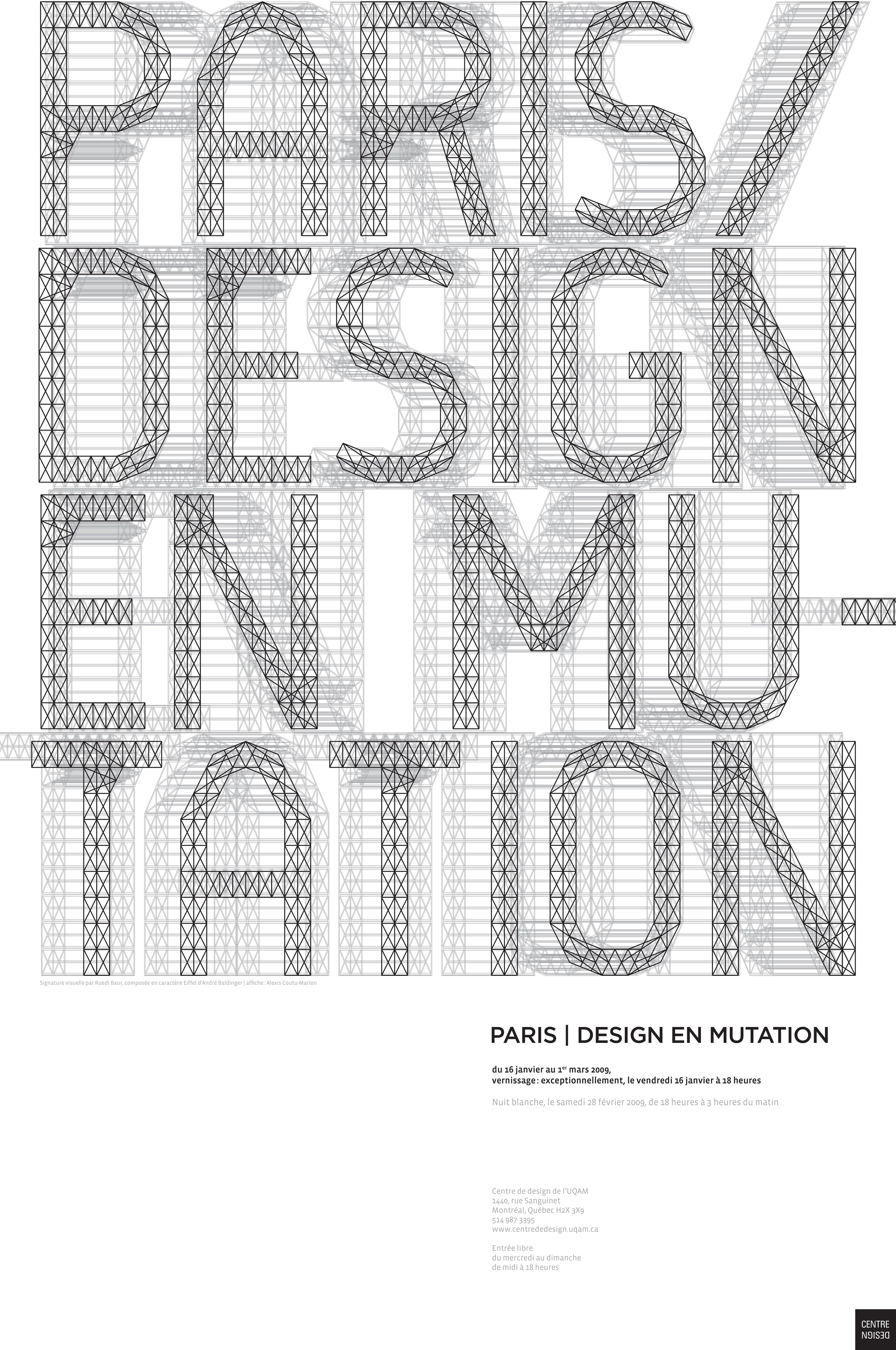 2009 - Exposition - Paris design en Mutation © Atelier Louis-Charles Lasnier