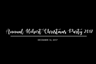 Annual Hebert Family Christmas 12/16/17