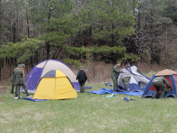 Boy Scouts Camp Out