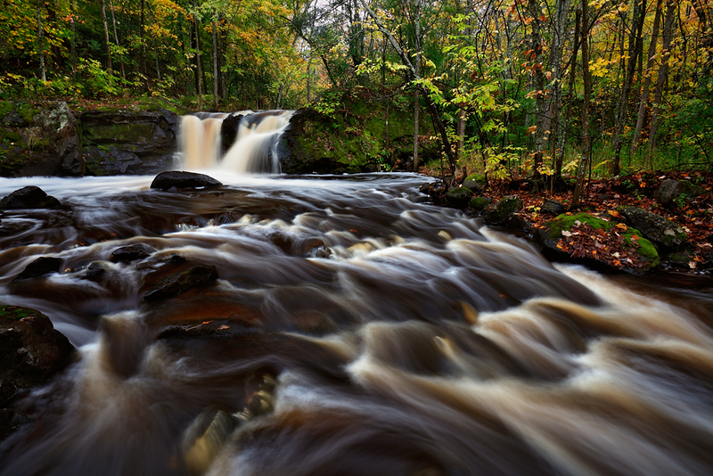 Swelling Sluice - Root Beer Falls (Upper Michigan)