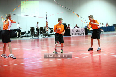 06/23 Saturday Double Dutch Pairs Freestyle Heat 42-45 Station 2