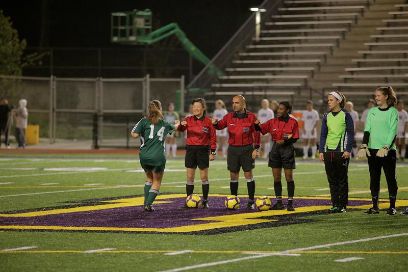 Woodinville High Girls Varsity Soccer verse Issaquah High October 6, 2011   ©Neir