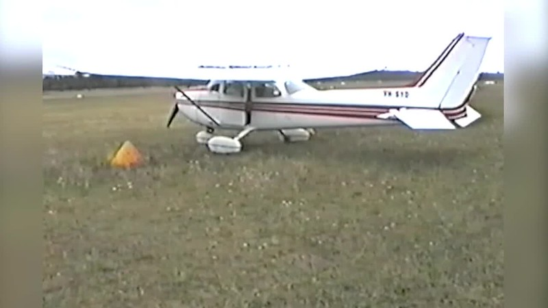 Flying from Moroya - 1993