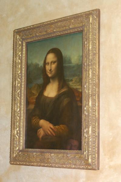 Mona Lisa in Louvre