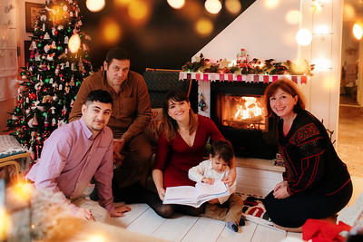 Matei & Elena & Dinu & bunicii | Poveste de Craciun | 14 Dec 2019