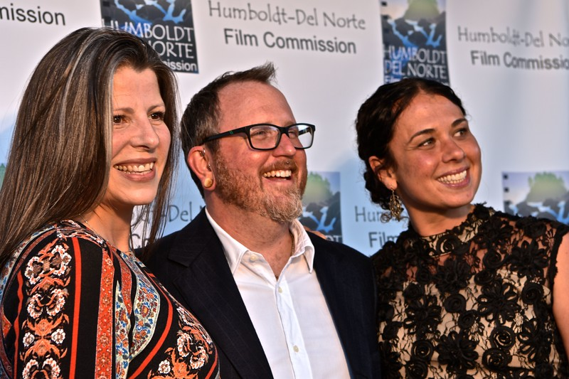 Nate Adams of the Humboldt-Del Norte Film Commission is book-ended nicely. José Quezada—For Times-Standard
