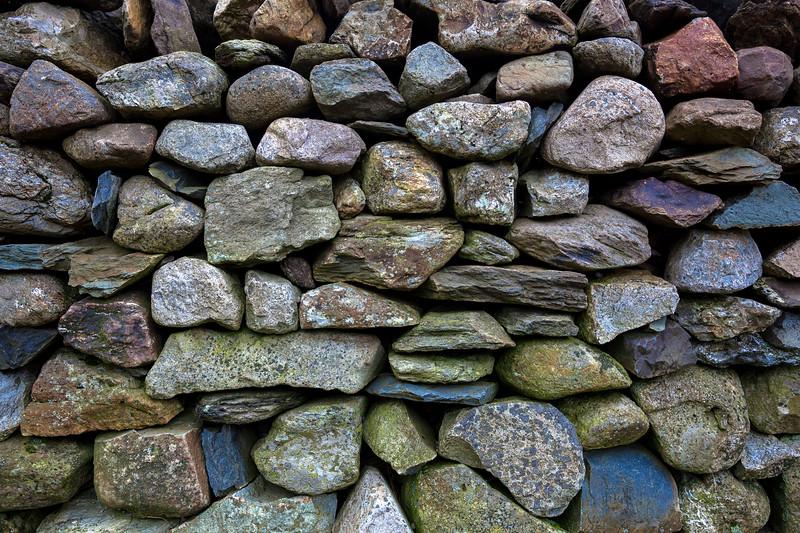 Dry stone wall, Snowdonia