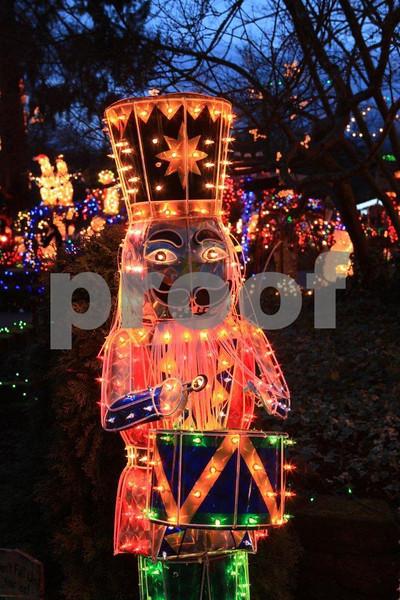 Christmas lights,