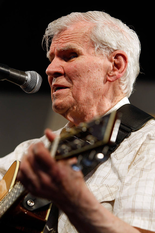 . Doc Watson.  (Photo by Chris Graythen/Getty Images)