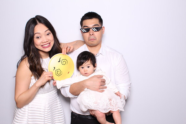 Zoey's Christening  Photo Booth