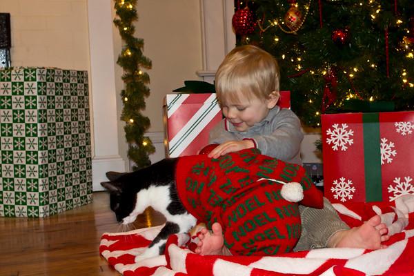 theboysposingchristmas