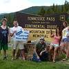 Tennessee Pass at the Continental Divide separating the Arkansas and Colorado River Basins