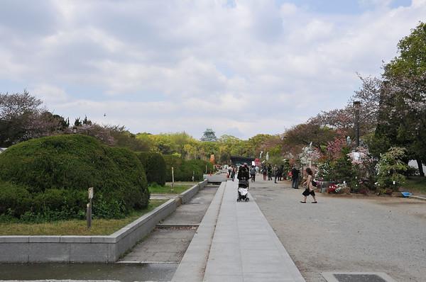 Osaka Jo Castle and City Walk