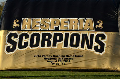 Hesperia vs Fontana 8/29/2014