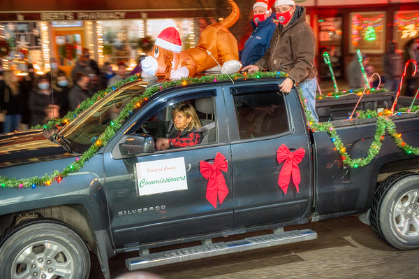Sayre Christmas Parade 2020