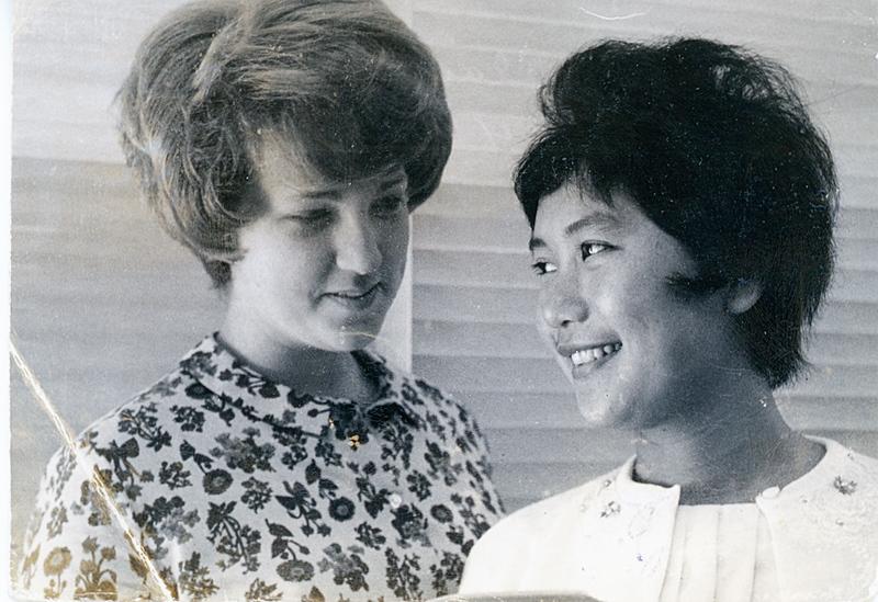 1964 Sue Ricca & Wilai (Thai AFS Student).jpg