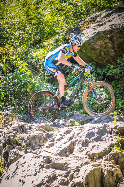 Adam Bucklin through the water on the outside line at the waterfall section of the 2016 Downieville Classic downhill.  @bucknpedal #bib27 #downievilleclassic2016 #downievilleclassic #downievilledownhill #allmountain #mountainbiking #mtb