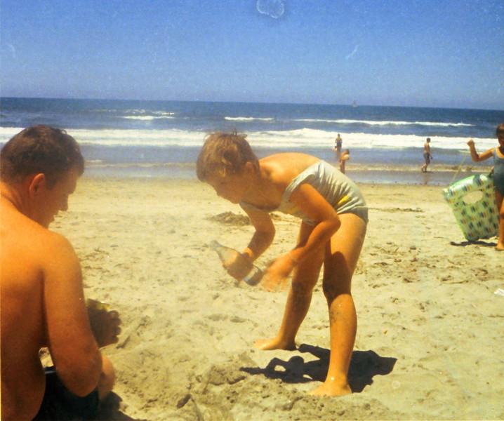 Max Sullivan and Shari Grant - Oceanside, California - 1970