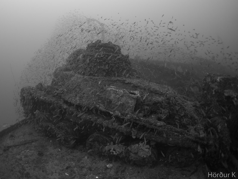 Another tank on the San Francisco Maru