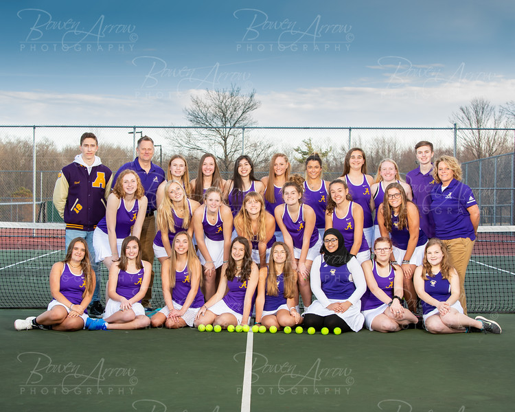 2019 Girls Tennis Team