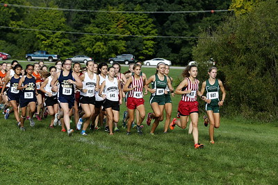 Coed Cross Country - 9/10/2016 Hill & Bale