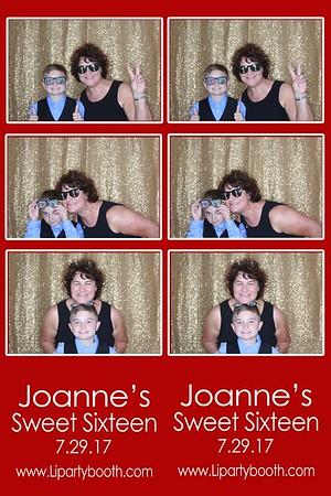 Joanne's Sweet 16