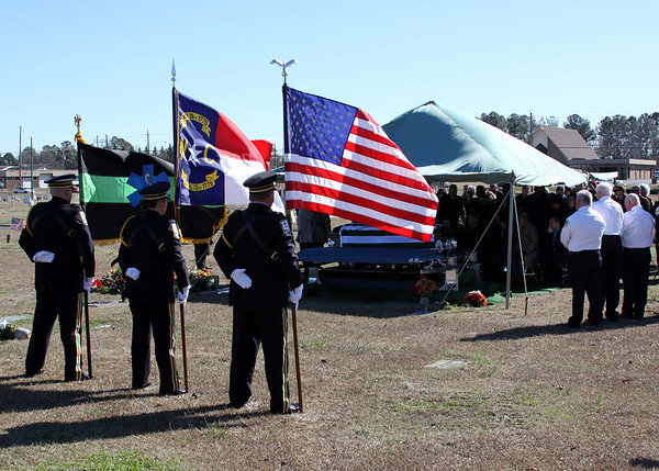 David Eatman Funeral 2-1-2013