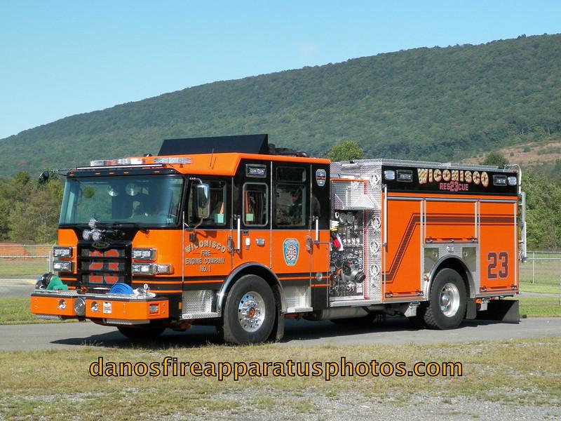 WICONISCO FIRE ENGINE CO.