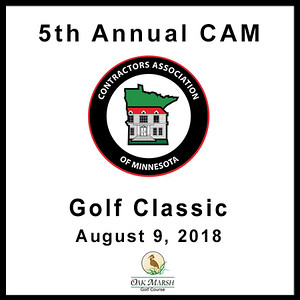 5th Annual CAM Golf Classic Aug. 9, 2018