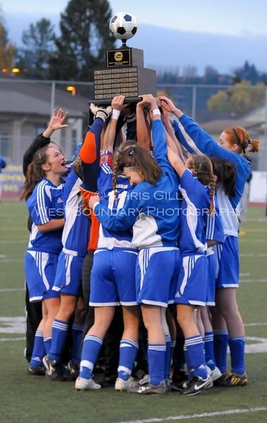 Orcas Vikings Girls Soccer 2009
