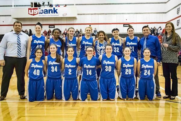 DHS Girls Basketball 02-25-2017