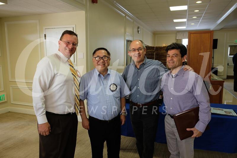 Mike Killackey, C. Joseph Chang, Fred Sohl and Dan Maljanian