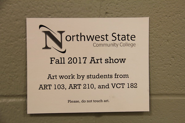 2017.11.21 Student Art Show