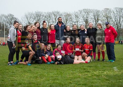 Stradey Sospans & Scarlets training session