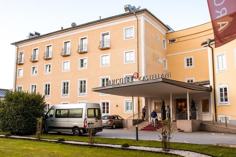 Bad hotel, we had to change rooms - Salzburg