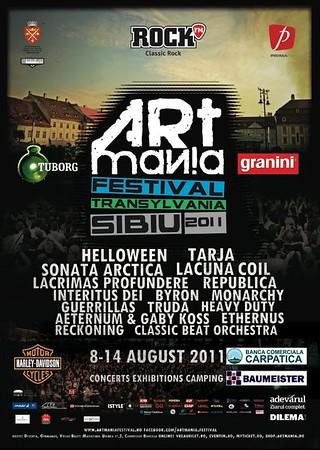 Artmania festival 2011 - Sibiu, Romania
