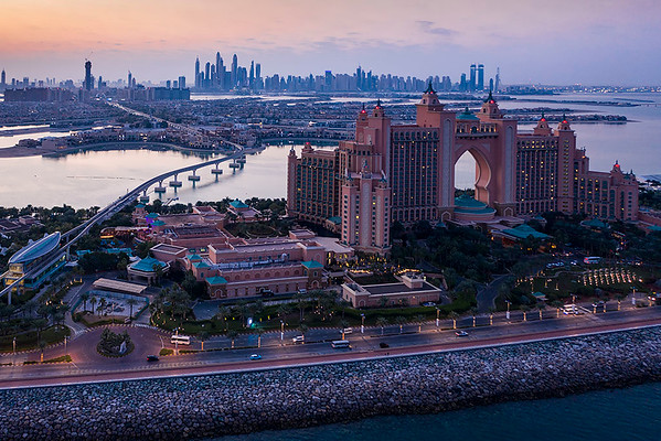 One Night On The Palm Jumeirah